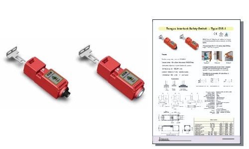Tongue - Interlock Safety Switch - Type IDIS-1
